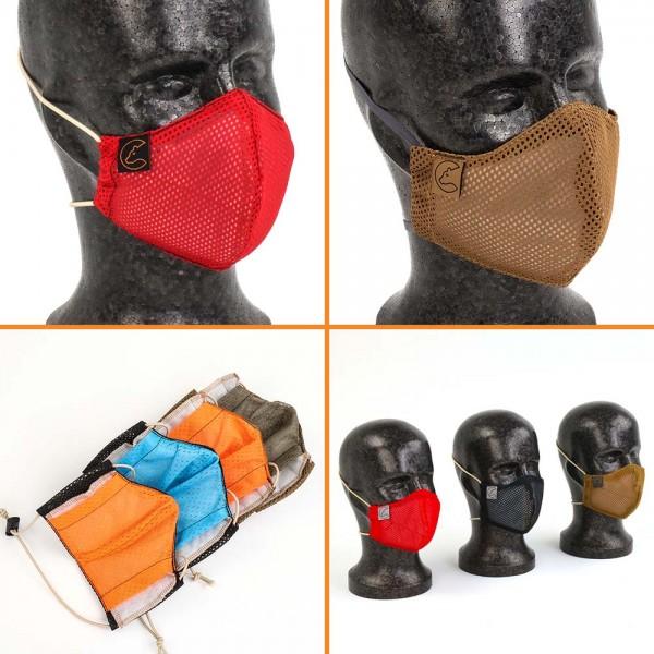 Nakatanenga Gesichtsmaske inkl. wiederverwendbarem Filter, waschbar