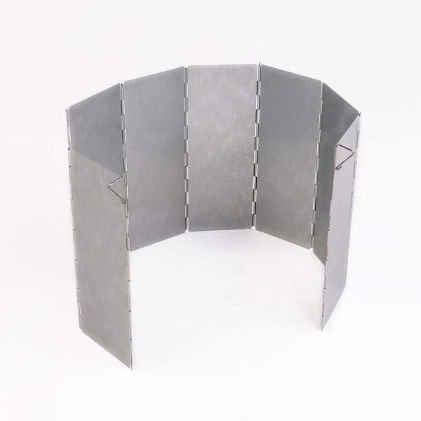 Alu Windschutz, faltbar - 78x26 cm