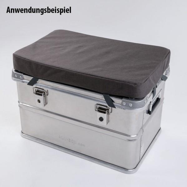 Sitzauflage für Aluboxen und andere Untergründe