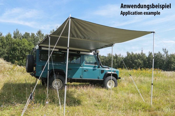 Frontteil für Nakatanenga Roof Lodge Awning