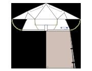 Dachzelt-Evolution-EVO-II-Basic-Vorzelt