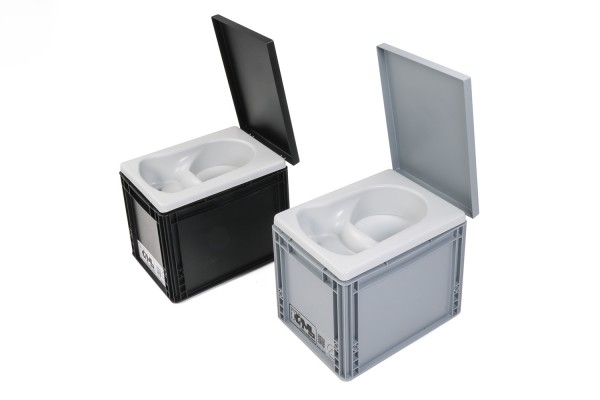 Mini-TrockenTrennToilette, KoMa Kackbox