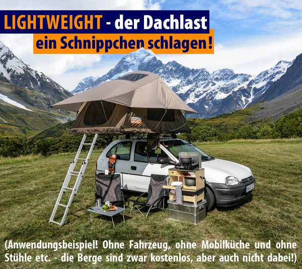 Roof Lodge Lightweight Dachzelte 140 Basic